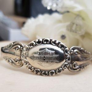 Jewelry - Vintage 925 Sterling Silver Spoon Bracelet